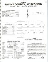 Index Map 2 - Racine County, Kenosha and Racine Counties 1986